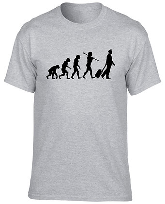 Evolution Of The Pilot T-Shirt