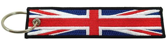 Key Chain, Embroidered, UNITED KINGDOM