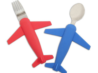 Airplane Fork & Spoon Set Redesign