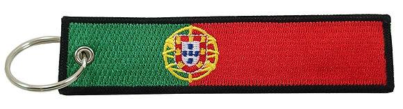 Key Chain, Embroidered, PORTUGAL