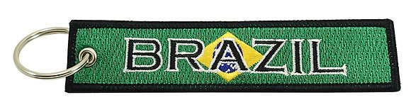 Key Chain, Embroidered, BRAZIL