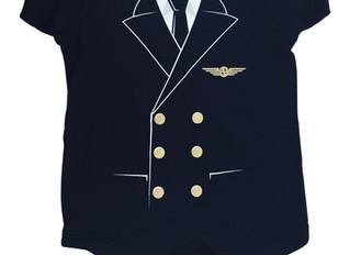 The Pilot Uniform Baby Bodysuit