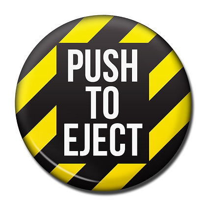Fridge Magnet - Push To Eject