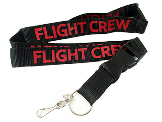 FLIGHT CREW Lanyards!
