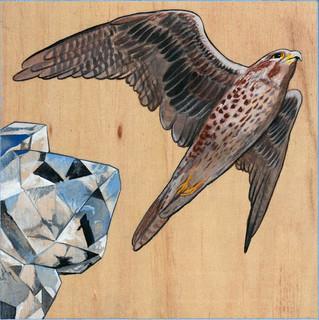 Falcon & Herkimer Diamond | Sold