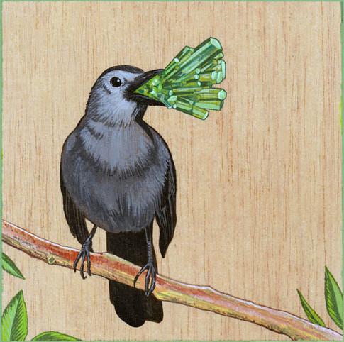 Catbird & Emerald | Sold