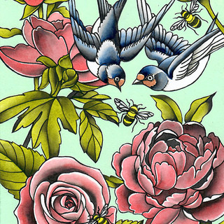 Birds and the Bees | Sold