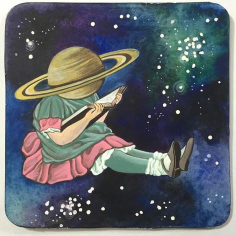 Little Saturn Head   Sold
