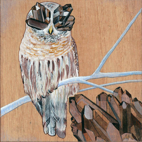 Owl & Smokey Quartz | Sold