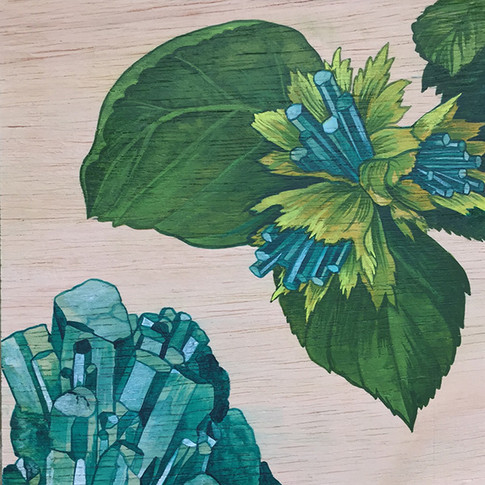 Hazelnut & Emerald | Sold