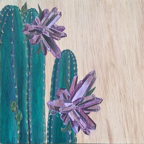 Cactus & Amethyst | Sold