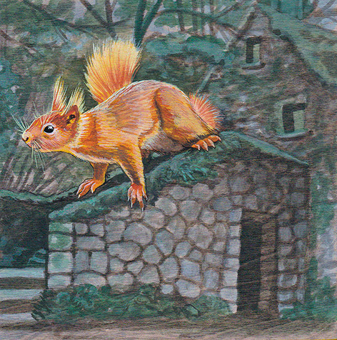 Witch House Squirrel | Sold