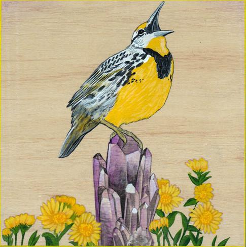 Meadowlark & Amethyst | Sold