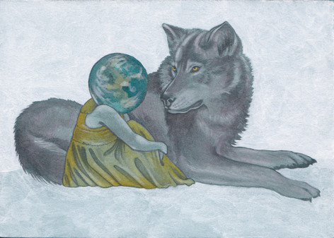 Earthing & Grey Wolf   Sold