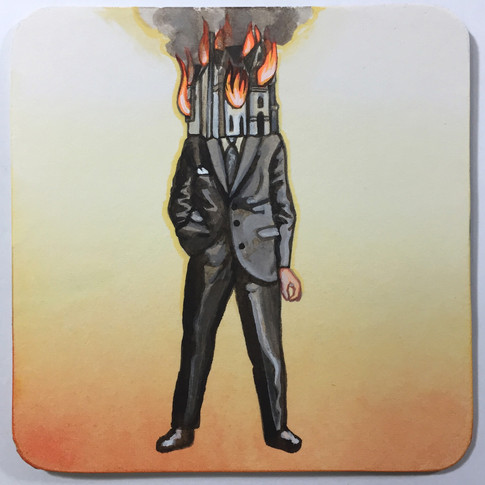 He's a House on Fire   Sold