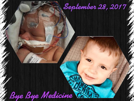 Bye Bye Seizure Medicine