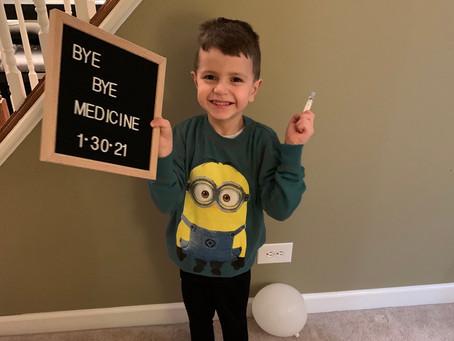 Bye bye medicine