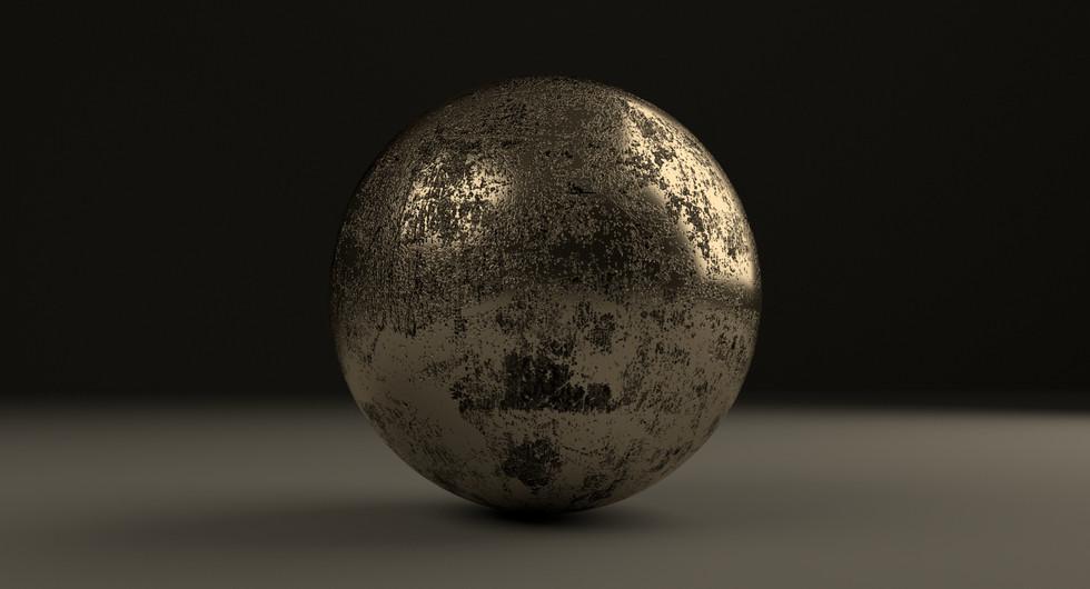 Pyrite Shader Ball