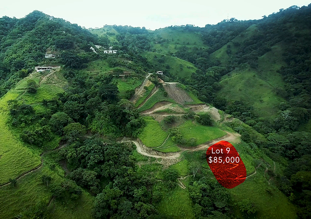 Lot 9 for sale in costa rica highlight.p