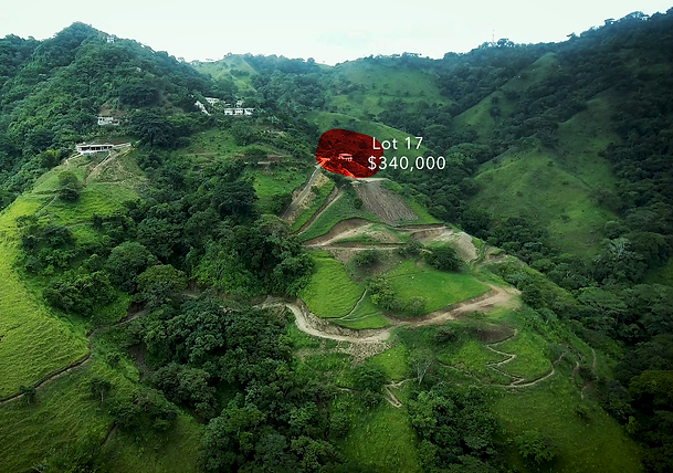 Lot 17 for sale in atenas costa rica hig