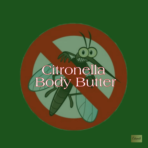 Citronella Body Butter