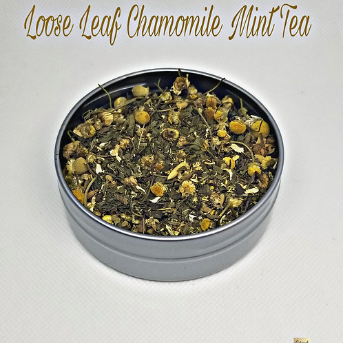Loose Leaf Chamomile Mint Tea