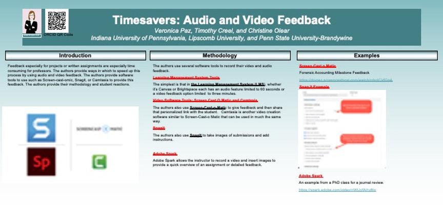Timesavers Audio Video Feedback.jpg