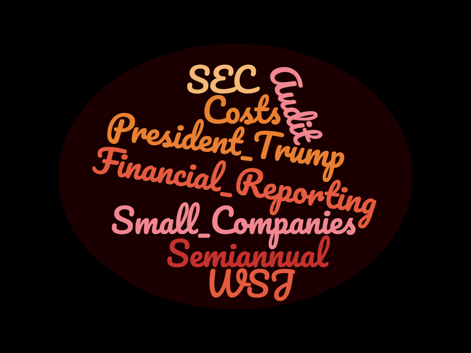 Semiannual Reporting Benefit Small Companies