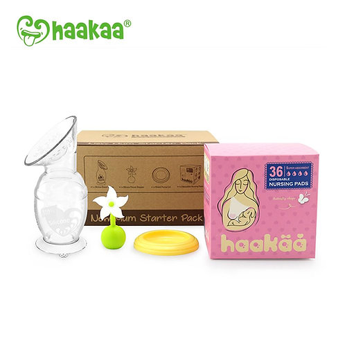 Haakaa New Mum Pack & Lactation Biscuit Bundle