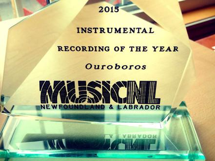 We Won MusicNL Instrumental Album of the Year!