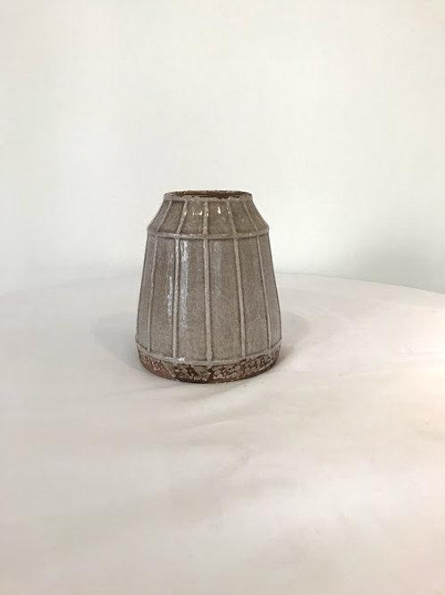 Vaso ceramico tom rose trapezio