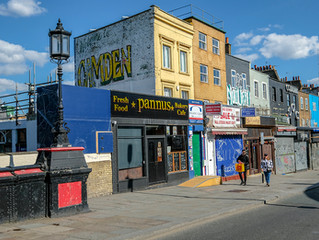 London lockdown images. Sixth stop: Camden Town