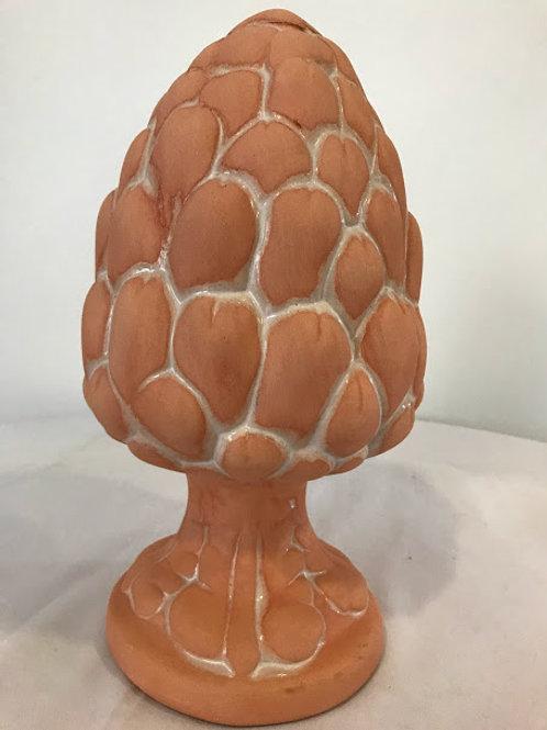 Pinha ceramica terracota