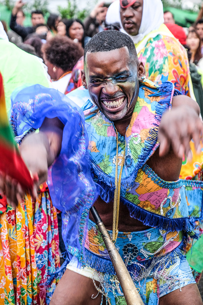 Feeling the vibes of Notting Hill Carnival