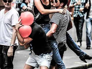 Gay parade, London...