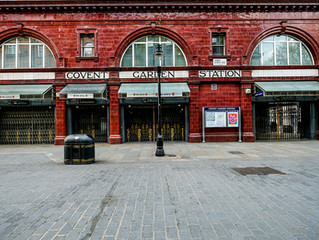 London lockdown images. Fourth stop: Covent Garden