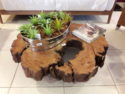 mesa de madeira decoração