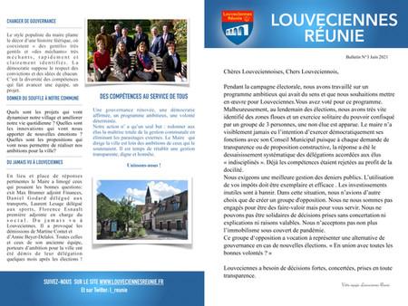 Bulletin N°3 Juin 2021