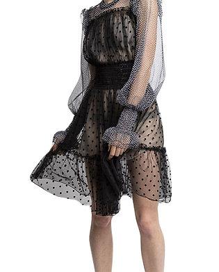 Rayn - Elastic Smocked Waist Dress