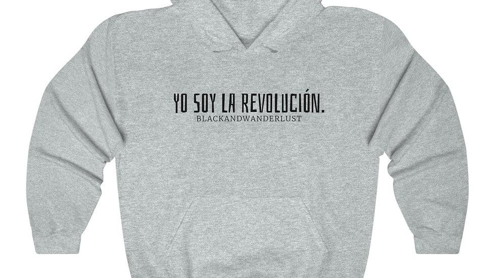 "BlackandWanderlust ""Revolutionary Gear: YSLR"" Unisex Heavy Blend Sweatshirt"