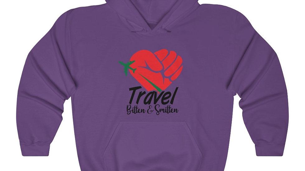 "BandW ""Travel Bitten and Smitten"" Unisex Heavy Blend™ Hooded Sweatshirt"