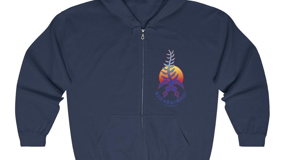 Harriet the OG Wanderlust Unisex Heavy Blend™ Full Zip Hooded Sweatshirt