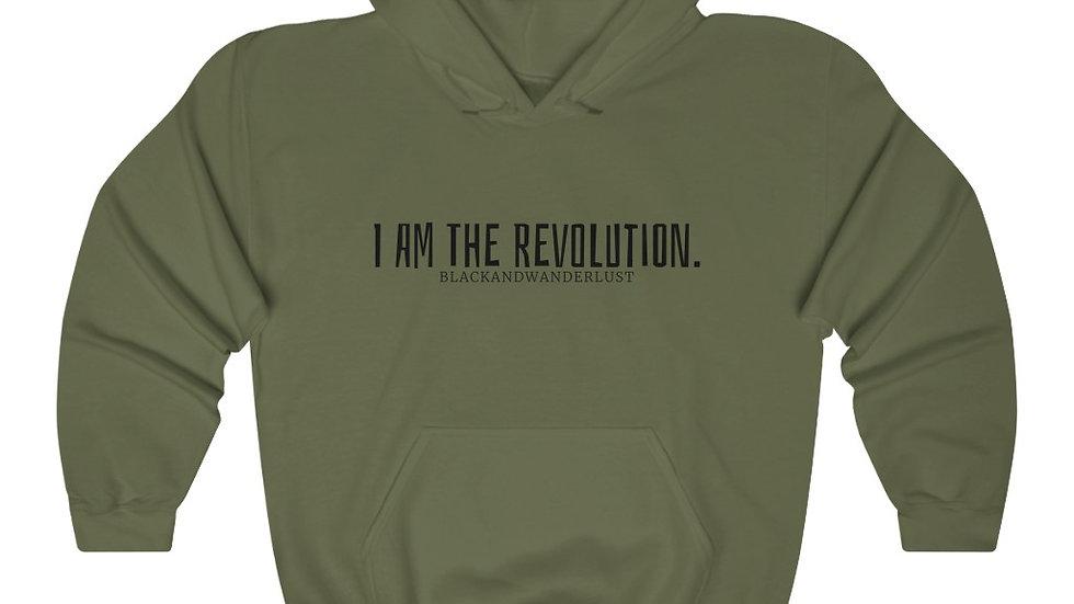 "BlackandWanderlust ""Revolutionary Gear: I AM"" Unisex Heavy Blend Sweatshirt"
