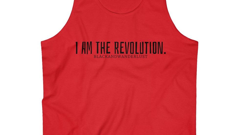 """BlackandWanderlust """"Revolutionary Gear:  I AM"""" Ultra Cotton Tank Top"""
