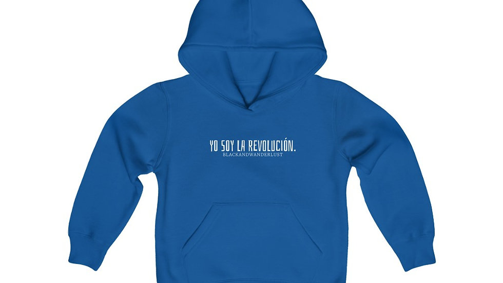 "BlackandWanderlust ""Revolutionary Gear: YSLR""  Youth Hooded Sweatshirt"