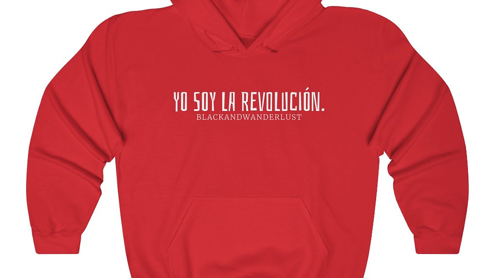 "BlackandWanderlust ""Revolutionary Gear: YSLR"" Unisex Heavy Blend Sweatshirt"