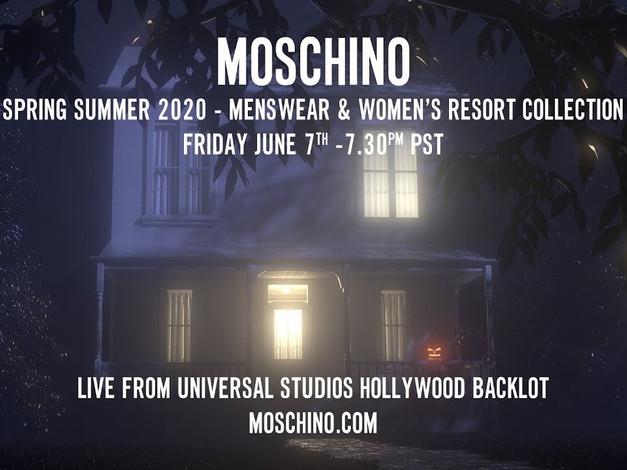 Moschino Spring Summer 2020 Resort Collection Fashion Show