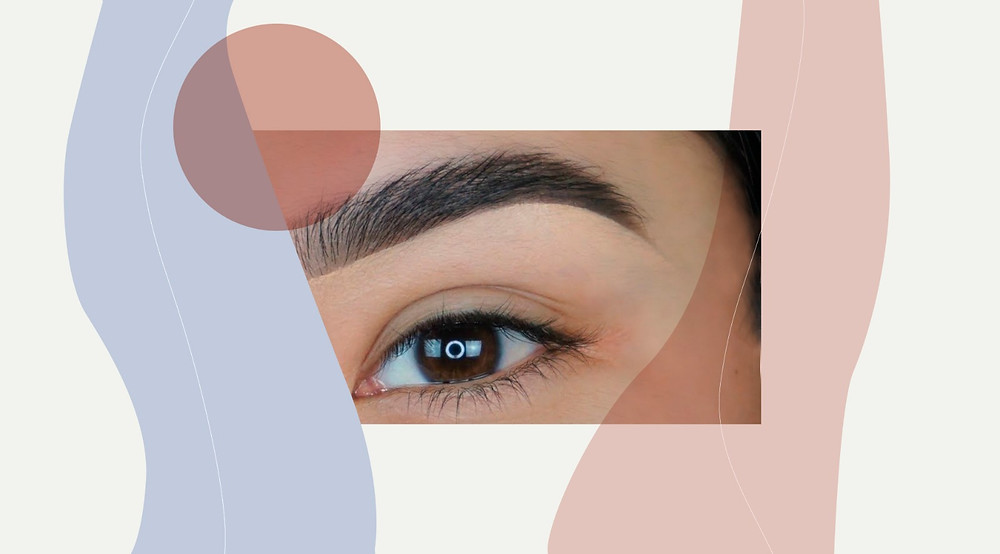 'Out out' bushy brows