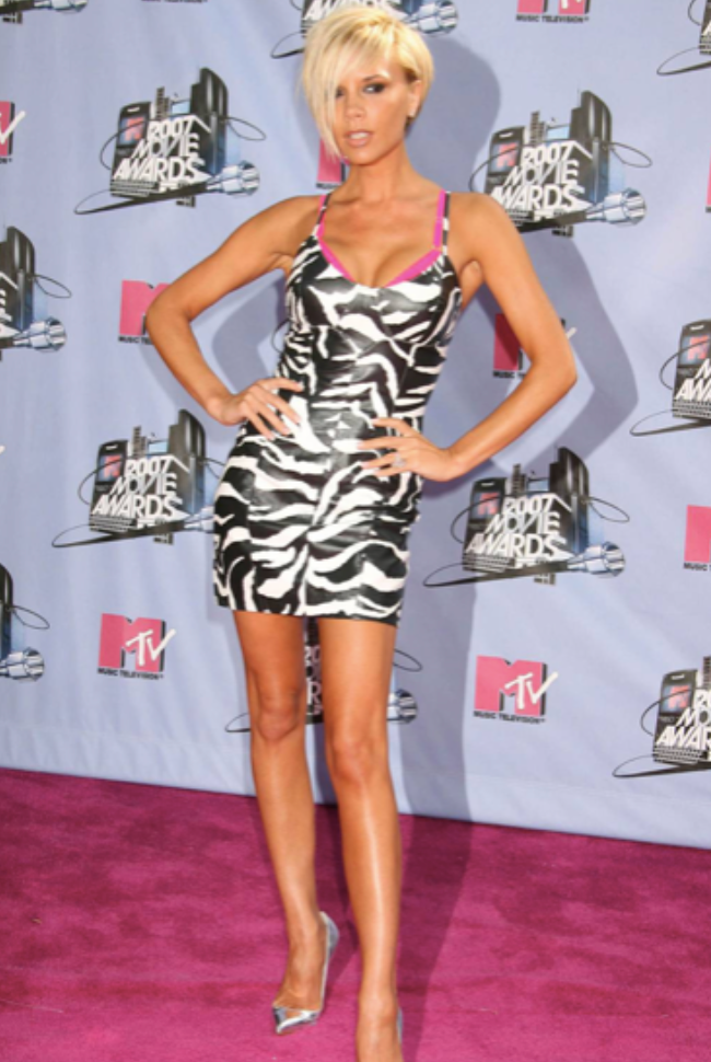 Victoria Beckham at the 2007 MTV Music Awards