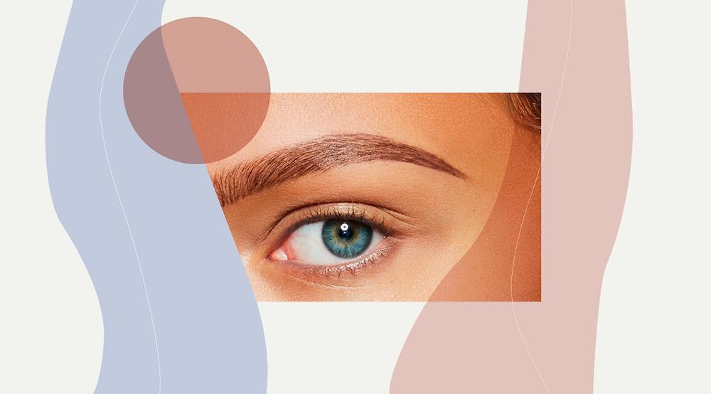 Bushy/natural everyday brows